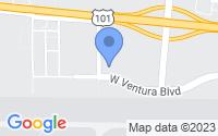 Map of Camarillo CA