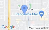 Map of Los Angeles CA