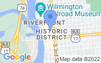 Map of Wilmington NC