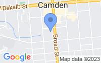 Map of Camden SC