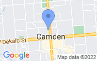 Map of Camden SC