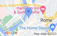 Map of Rome GA