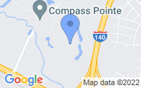 Map of Leland NC