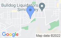 Map of Simi Valley CA
