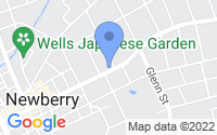 Map of Newberry SC