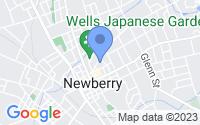 Map of Newberry SC