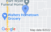 Map of Walters OK