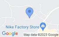 Map of Dawsonville GA