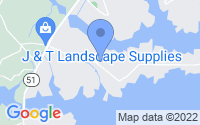 Map of Hartwell GA