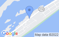 Map of Surf City NC