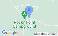 Map of Rocky Point NC