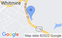 Map of Whitmire SC