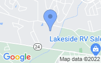 Map of Anderson SC