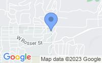 Map of Prescott AZ