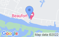 Map of Beaufort NC