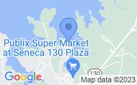 Map of Seneca SC