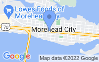 Map of Morehead City NC