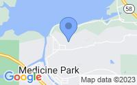 Map of Medicine Park OK