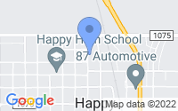 Map of Happy TX