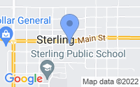 Map of Sterling OK