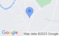 Map of Blue Ridge GA