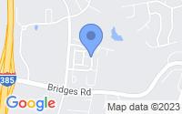 Map of Simpsonville SC