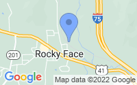Map of Rocky Face GA