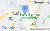 Map of Greenville SC