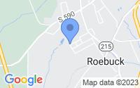 Map of Roebuck SC