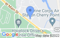 Map of Havelock NC