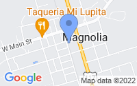 Map of Magnolia NC