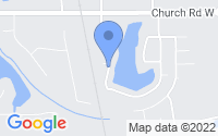 Map of Horn Lake MS