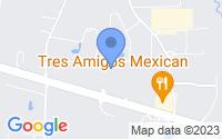 Map of Ringgold GA