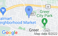 Map of Greer SC
