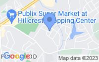 Map of Spartanburg SC