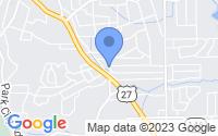 Map of Rossville GA