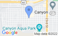 Map of Canyon TX