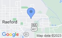 Map of Raeford NC