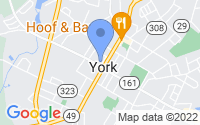 Map of York SC