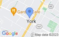 Map of York SC