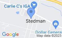Map of Stedman NC