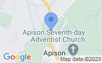 Map of Apison TN