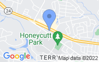 Map of Fayetteville NC