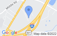 Map of Eastover NC