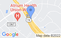 Map of Stallings NC
