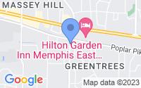 Map of Memphis TN
