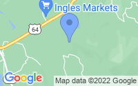 Map of Cashiers NC