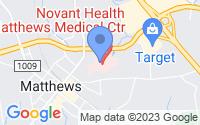 Map of Matthews NC