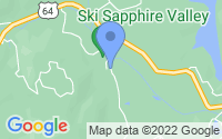 Map of Sapphire NC
