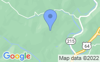 Map of Rosman NC